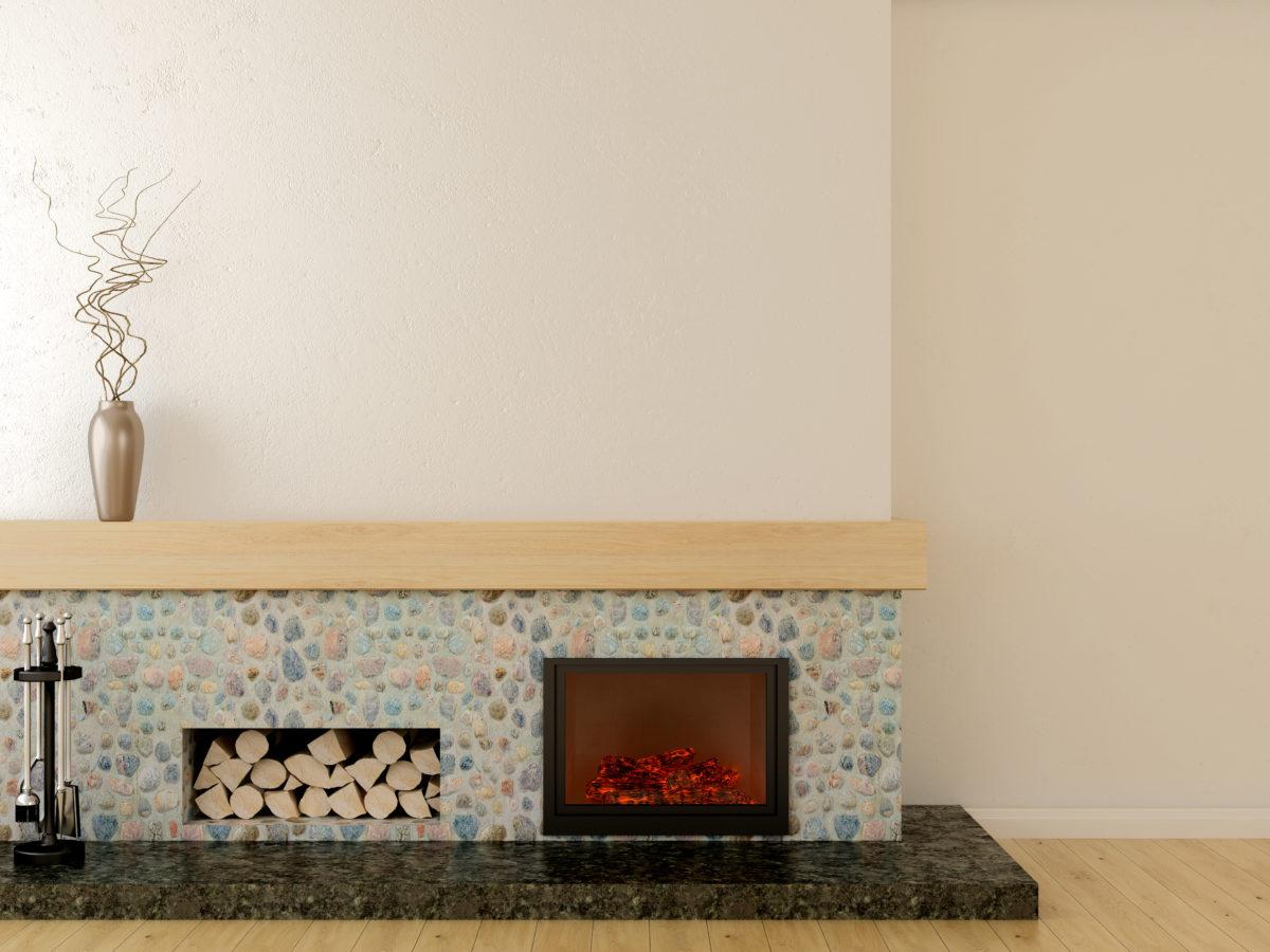 Электрические камины для квартиры